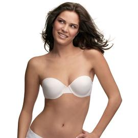 Inspirations Bra Strapless Demi Underwire White at Kmart.com