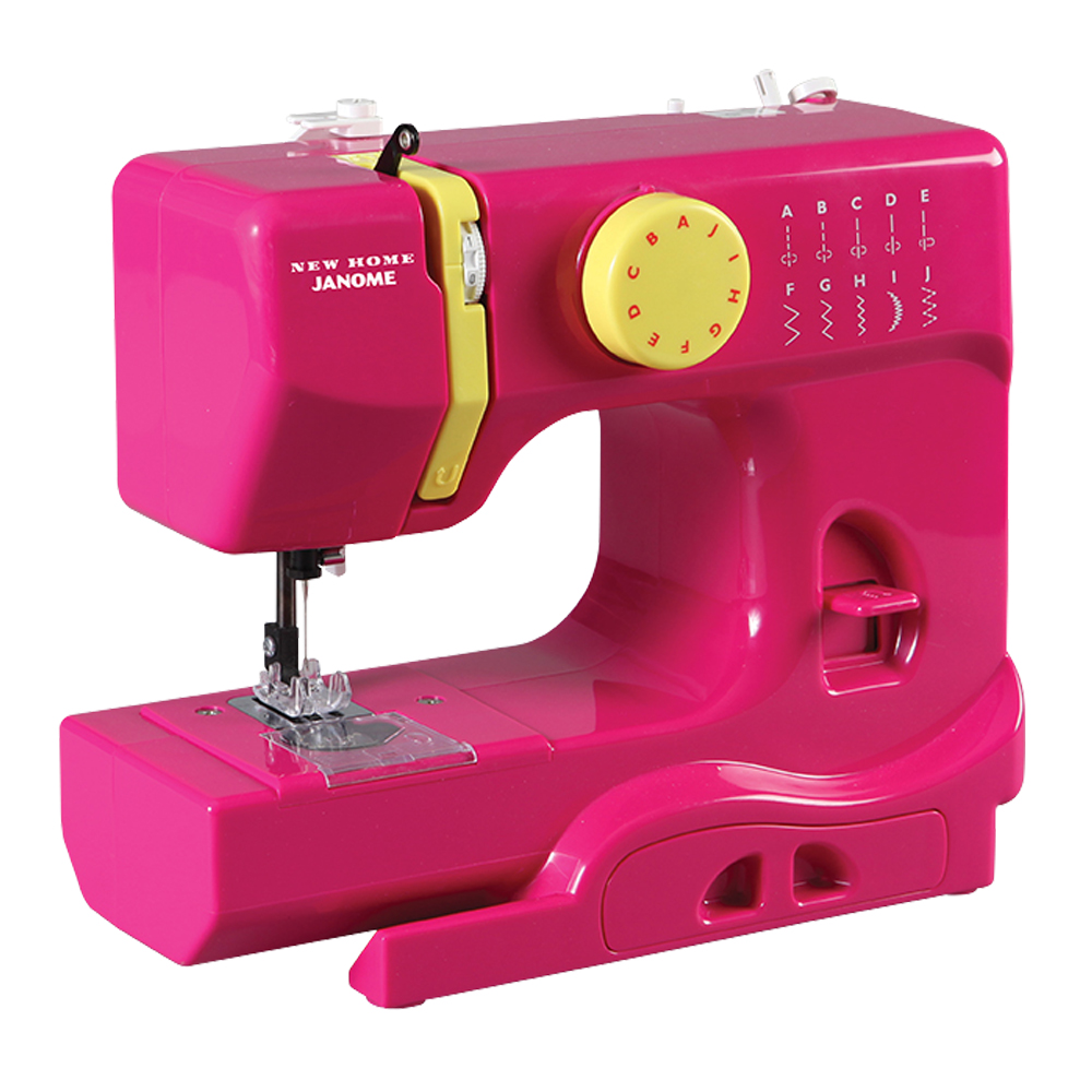 Janome Fastlane Fuschia Portable Sewing Machine