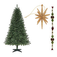 Trim-a-Home 6' Tress and Merry Holiday Trim Kit       ...