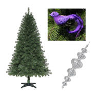 Trim-a-Home 6' Tree And Winter Wishes Trim Kit        ...
