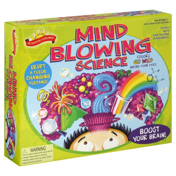Scientific Explorer Mind Blowing Science Kit,