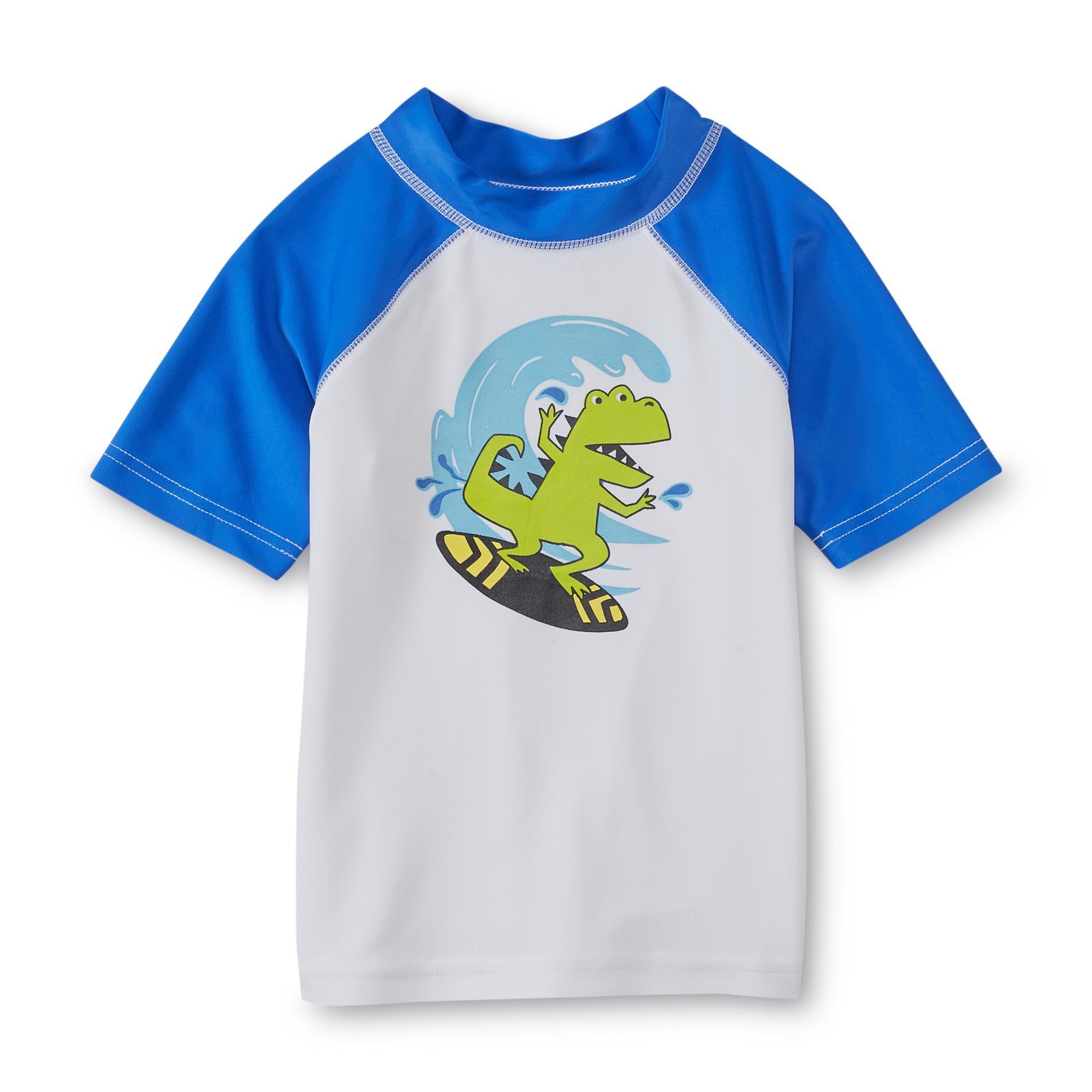 Infant & Toddler Boy's Rash Guard Shirt - Dinosaur