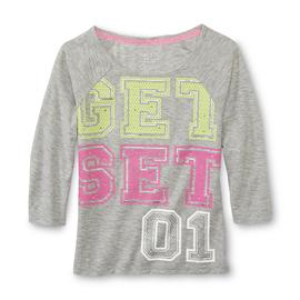 Piper Faves Girl's Raglan T-Shirt - Get Set '01 at Kmart.com