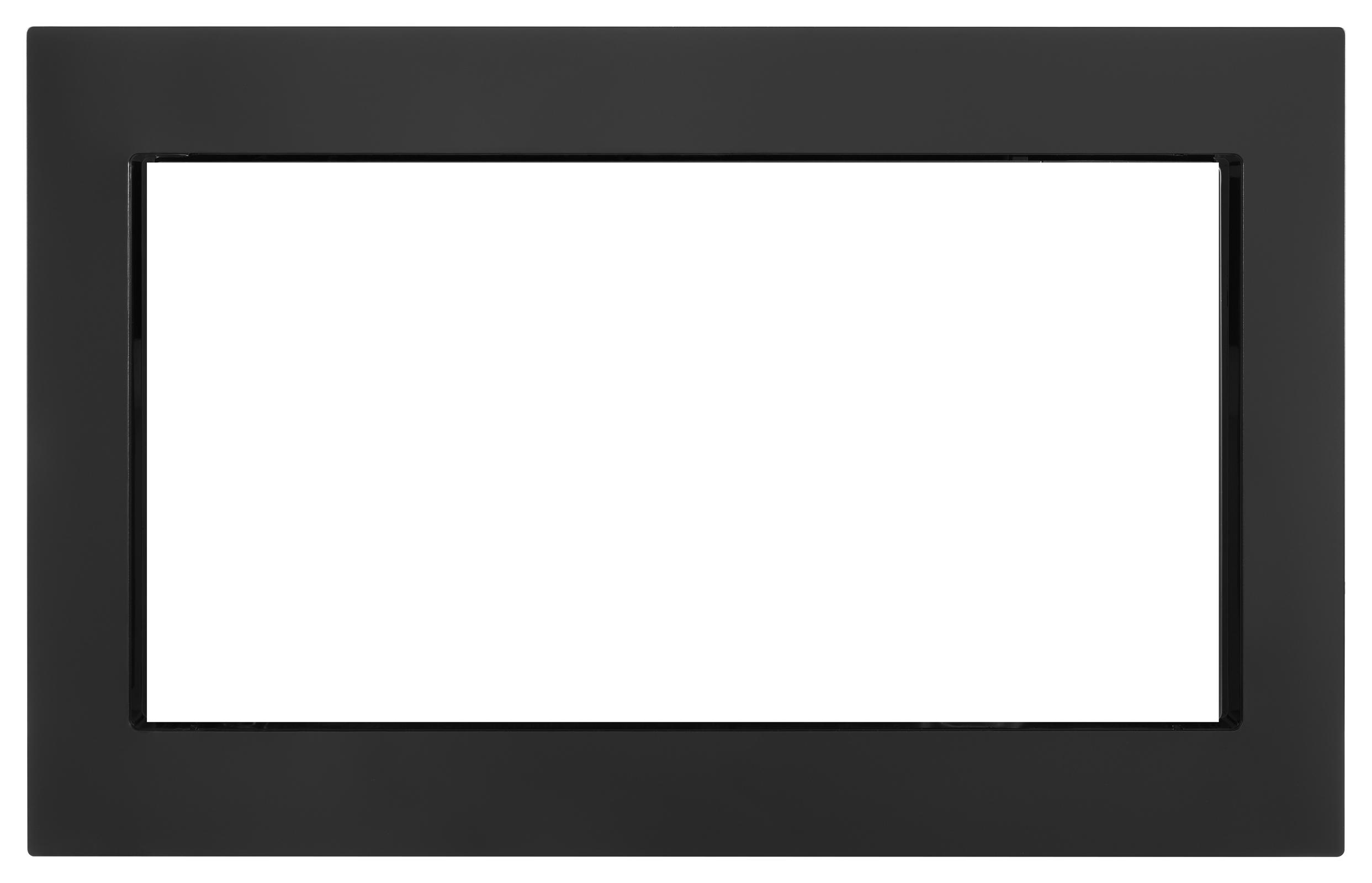 """Whirlpool 30"""" Trim Kit for 2.2 cu. ft. Microwave - Black PartNumber: 02043229000P KsnValue: 02043229000 MfgPartNumber: MK2220AB"""