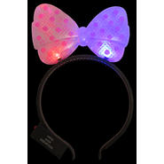 WeGlow International Light Up Pink Hair Bow Bopper (set of 5) at Kmart.com
