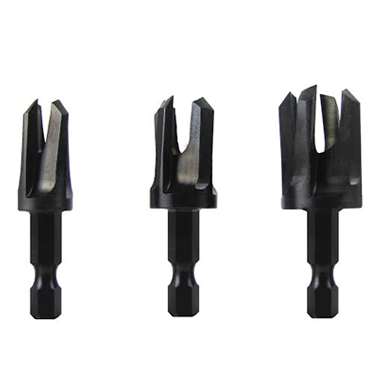 SNAPPY TOOLS Snappy 3 Piece Tapered Plug Cutter Set PartNumber: 00912274000P KsnValue: 6793034 MfgPartNumber: 43300