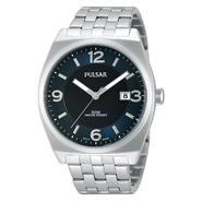Pulsar Mens Silver Tone Blue Dial Lumibrite Watch PS9279 at Sears.com