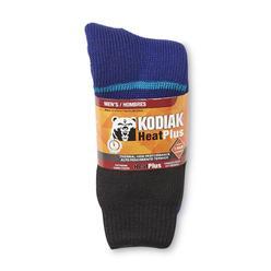 Kodiak Men's HeatPlus Crew Socks - Colorblock at Kmart.com