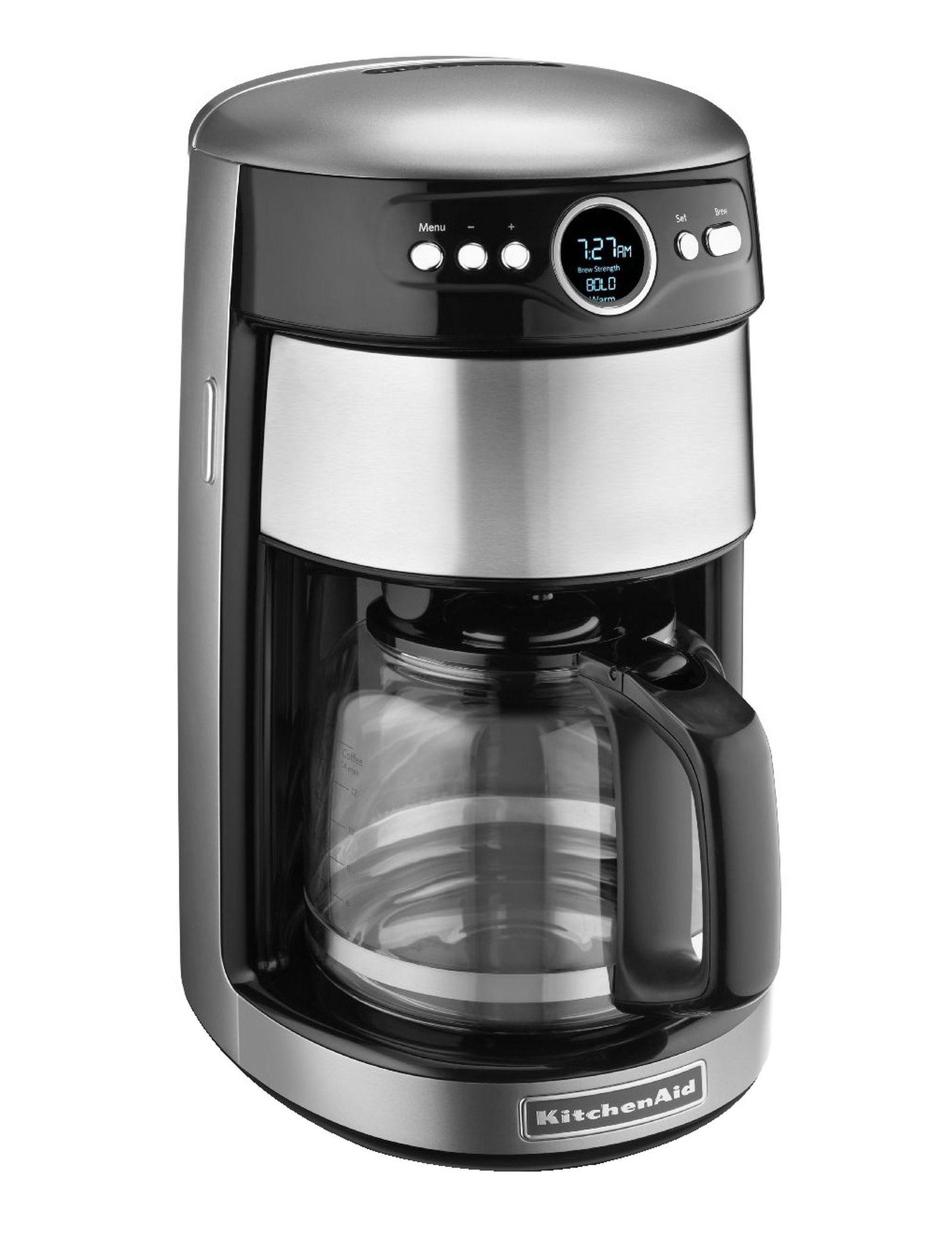 KitchenAid KCM1402ES 14-Cup Glass Carafe Coffee Maker - Espresso - Appliances - Small Kitchen ...