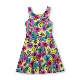 Piper Girl's Sleeveless Skater Dress - Floral & Bunny at Kmart.com