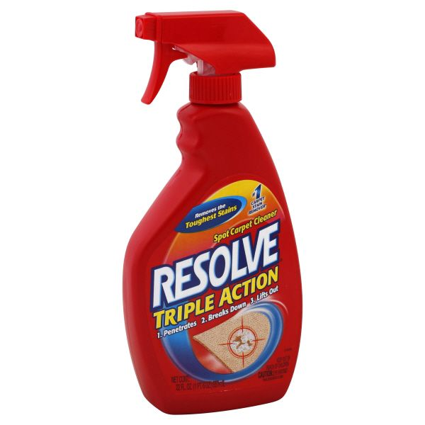 Resolve  Carpet Cleaner, Spot, Triple