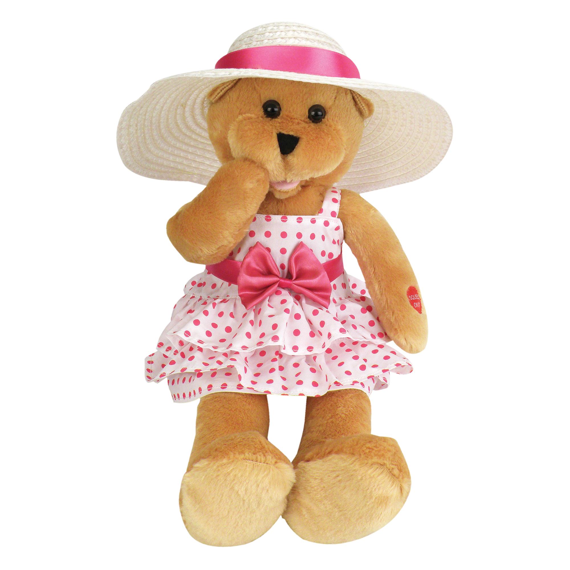 """Chantilly Lane G1129 17"""" Doris Bear sings Que Sera Sera PartNumber: 004V007155489000P KsnValue: 004V007155489000 MfgPartNumber: 4PBC01129"""