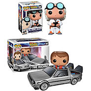 Funko Back to the Future POP! Movie Vinyl Collectors Set: Doc Emmet Brown & Pop! Ride Delorean w/ Marty McFly at Kmart.com