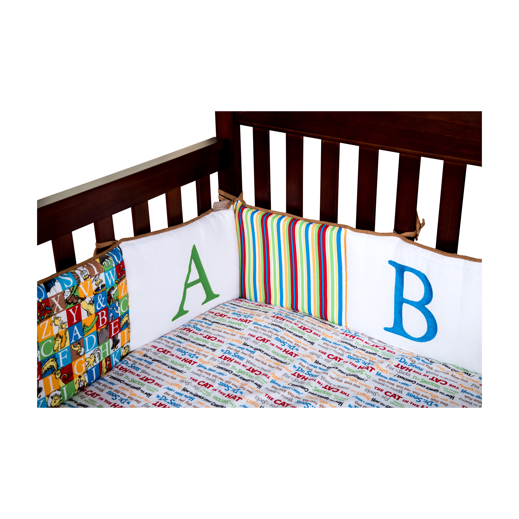 Dr. Seuss Alphabet Seuss Crib Bumper PartNumber: 04928056000P