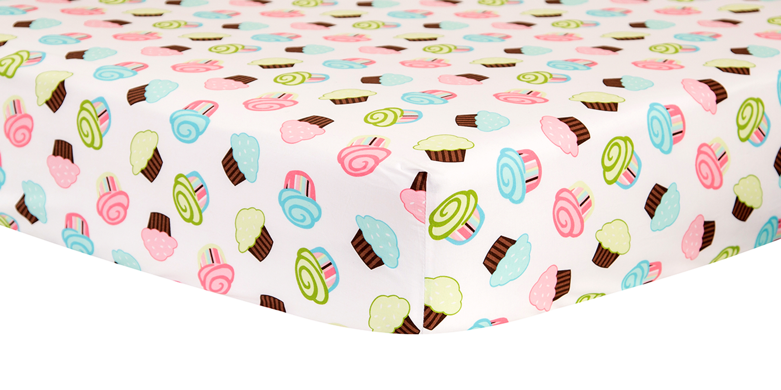 Trend Lab Cupcake Scatter Crib Sheet