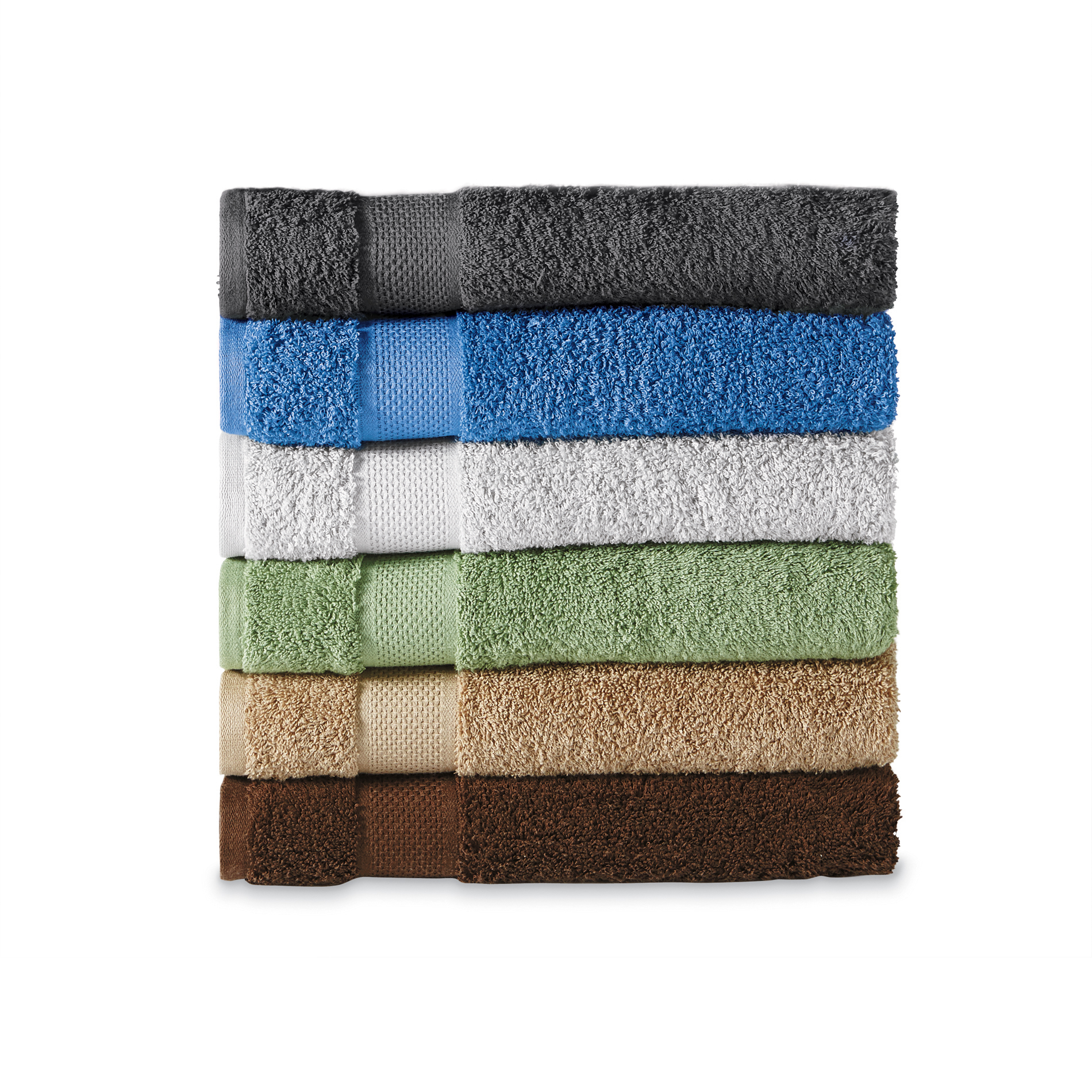 Colormate Ringspun Cotton Bath Towel Hand Towel or Washcloth