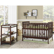 Dorel Home Furnishings Ryder Espresso 2 in 1 Crib with Changing Table at Kmart.com