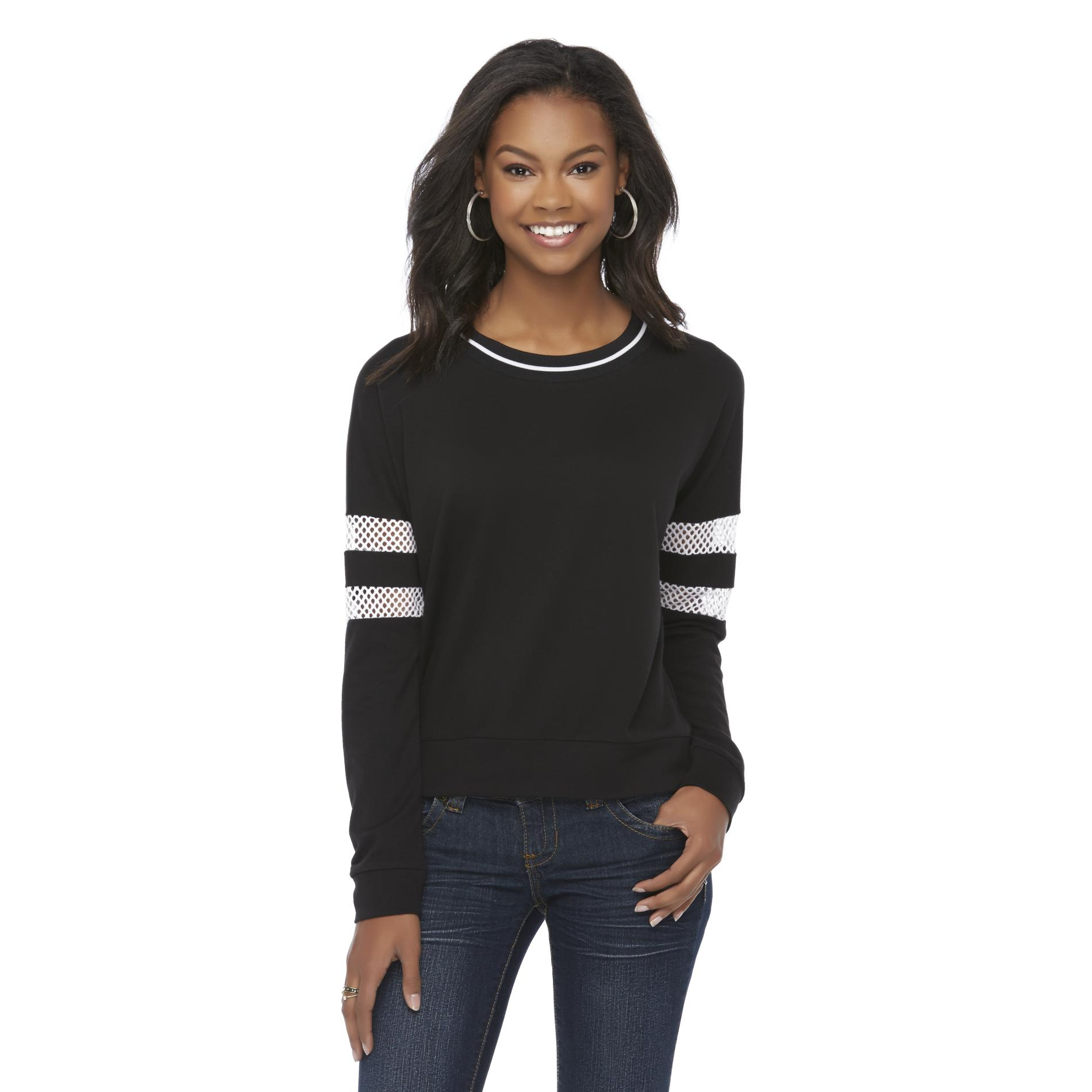Bongo Junior's Mesh Accent Sweatshirt at Sears.com