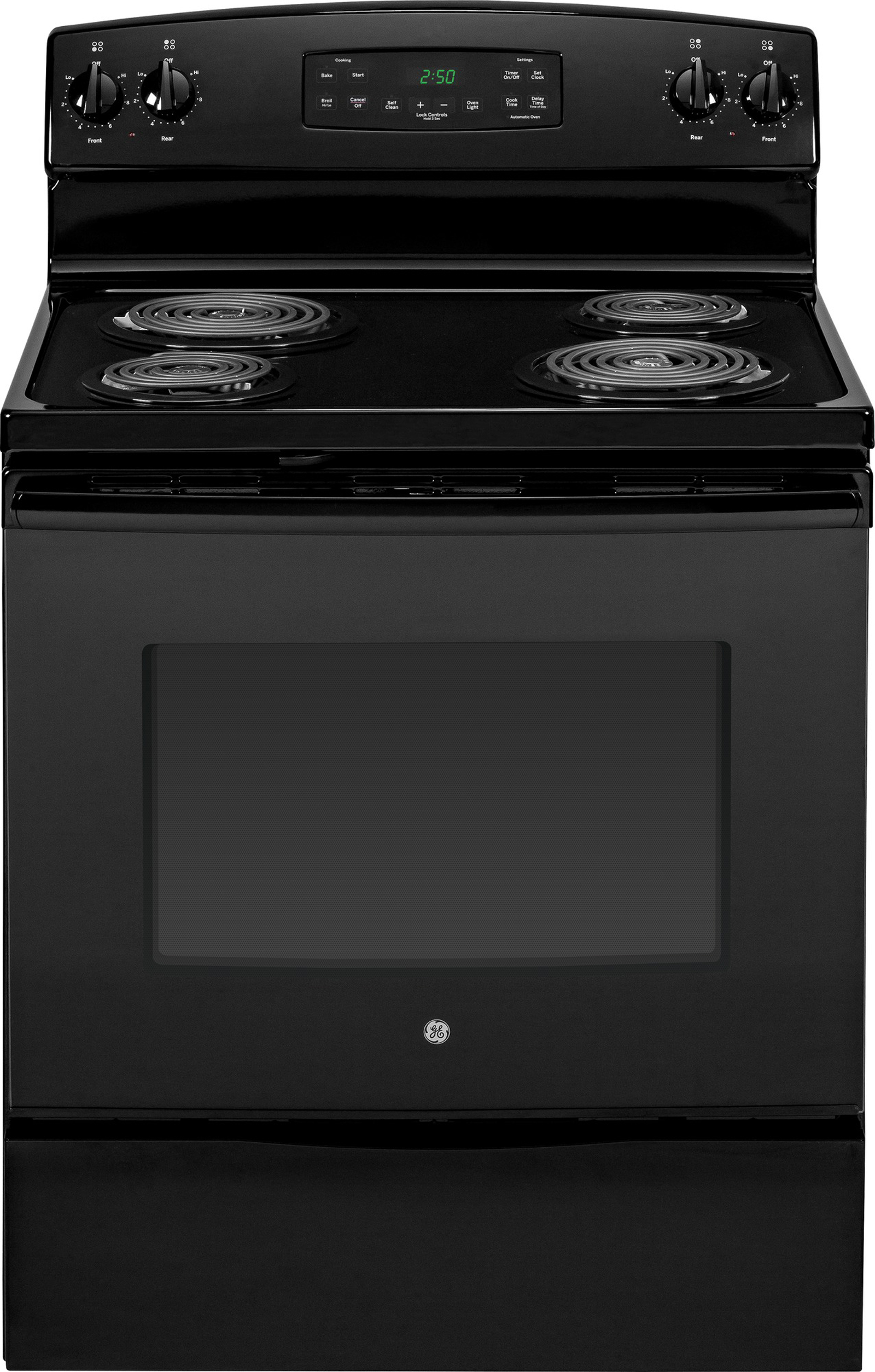 JB250DFBB-5-3-cu-ft-Free-Standing-Electric-Range-Black