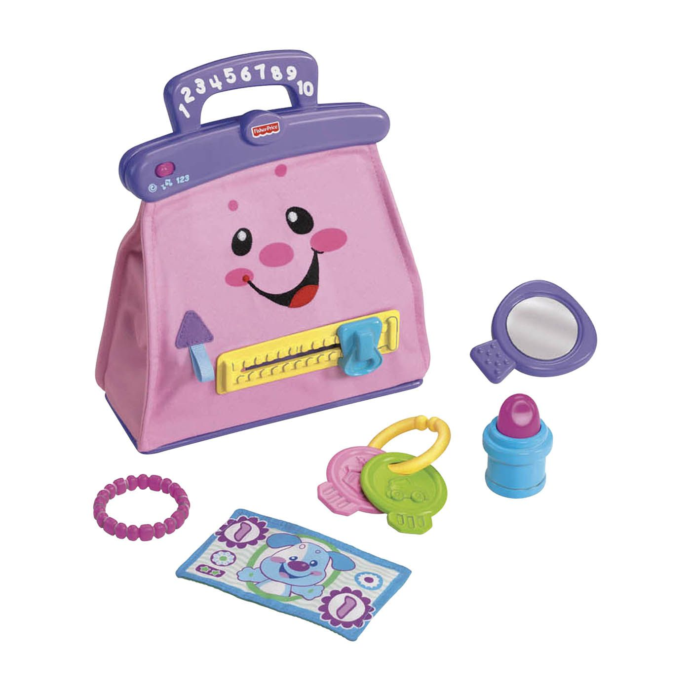Laugh & Learn My Pretty Learning Purse (004W442841710001 M7135-a) photo