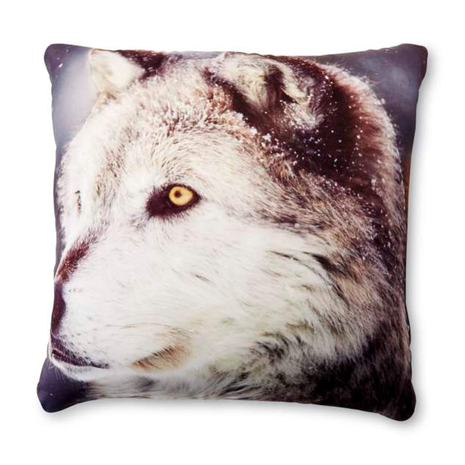 Foam Microbead Pillow - Wolf
