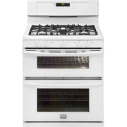 Frigidaire Gallery 5.8 cu. ft. Double-Oven Gas Range - White at Kmart.com