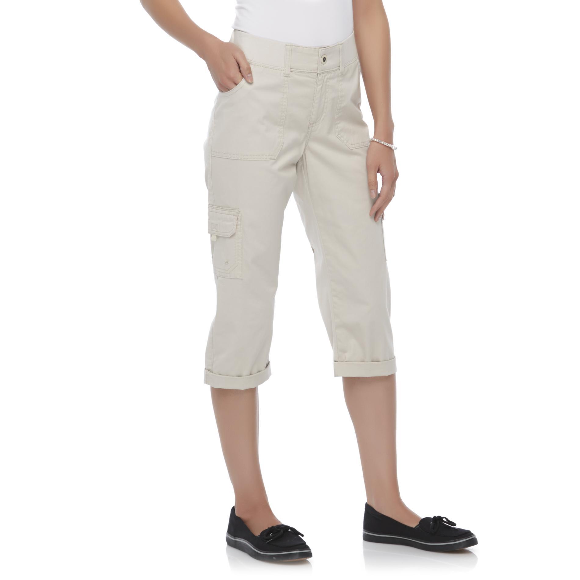 LEE Petite's Brynn Cargo Capri Pants