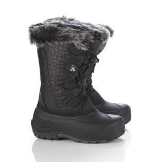 "Kamik Girl's Snowgypsy 10"" Black Waterproof Winter Boot"