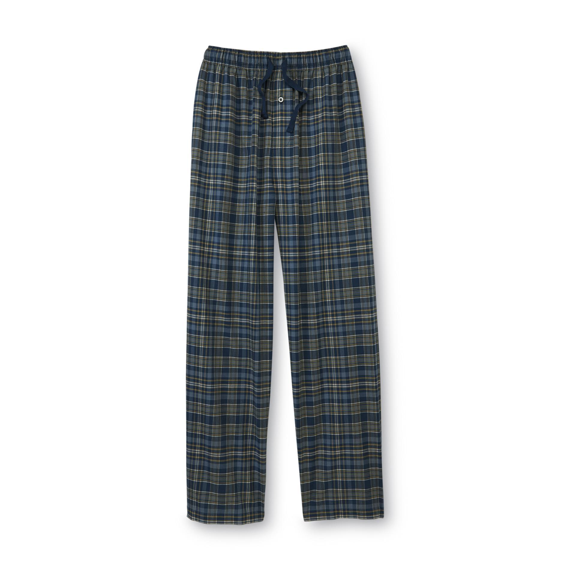 Men's Big & Tall Pajama Pants - Plaid
