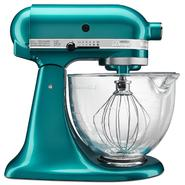 KitchenAid Artisan Design Series Sea Glass 5 Quart Stand Mixer with Glass Bowl at Sears.com