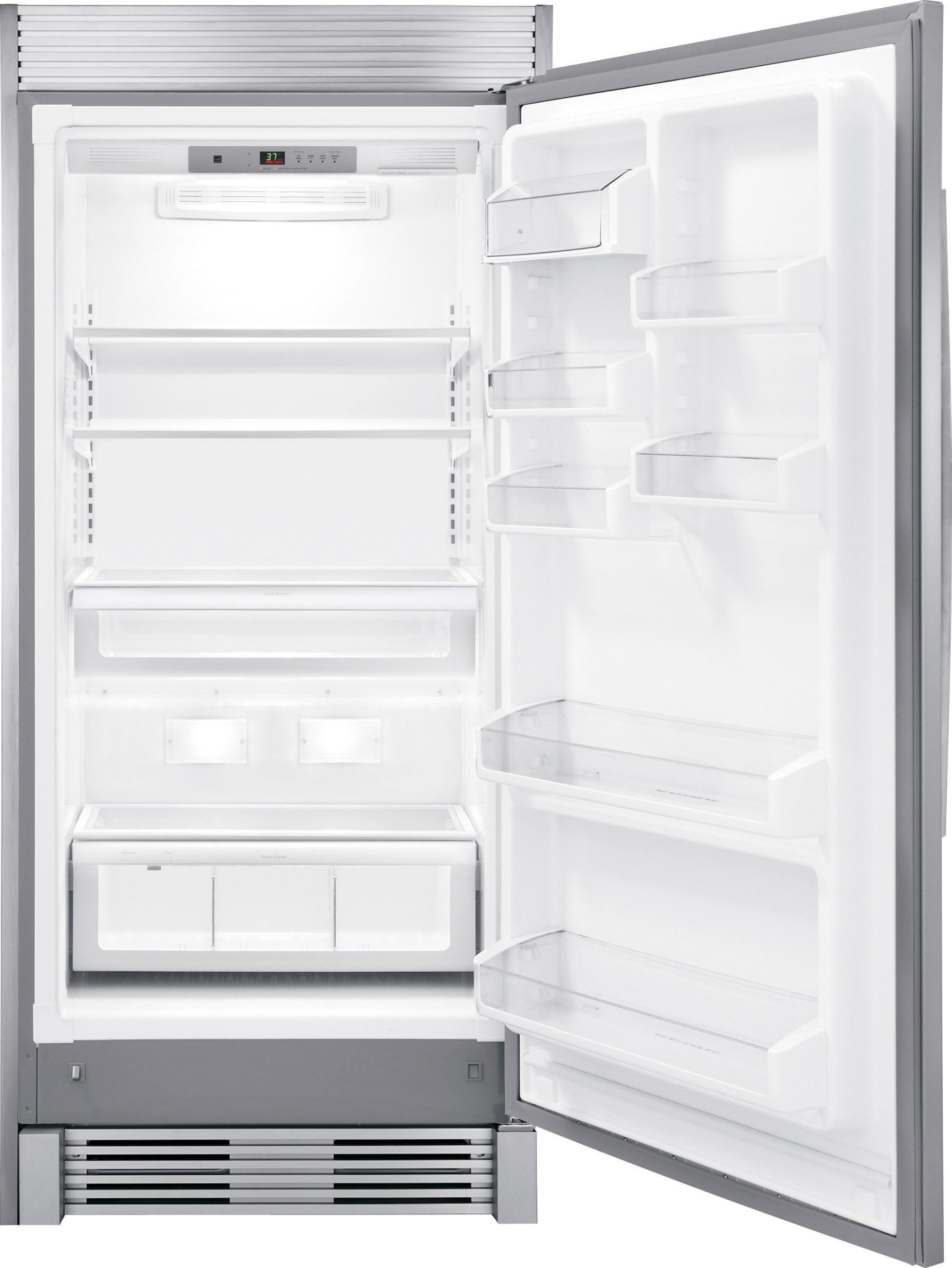 Frigidaire Gallery Frigidaire Gallery FGRU19F6QF 19 Cu. Ft. Freezerless  Refrigerator   Stainless Steel 2