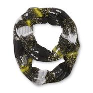 Joe Boxer Women's Embellished Infinity Scarf - Mixed Print Stripes at Kmart.com