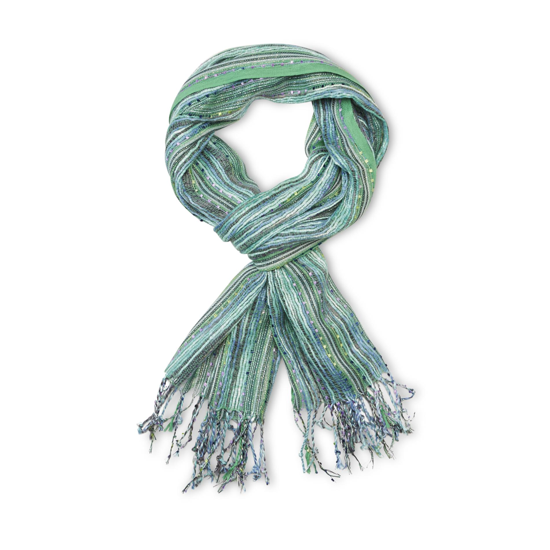 Joe Boxer Women's Textured Confetti Scarf