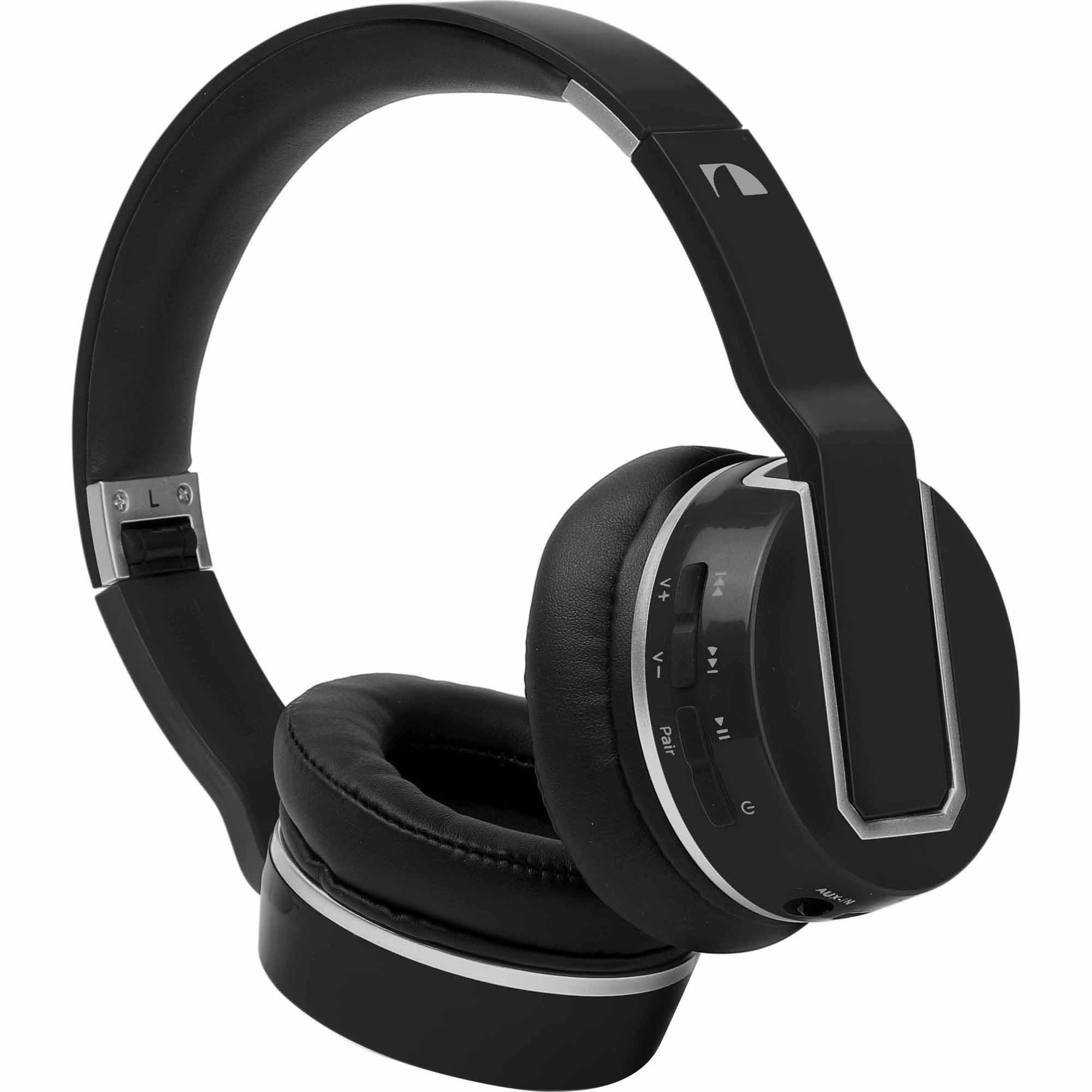 Nakamichi BTHP02 Bluetooth® Wireless Headphones - Black