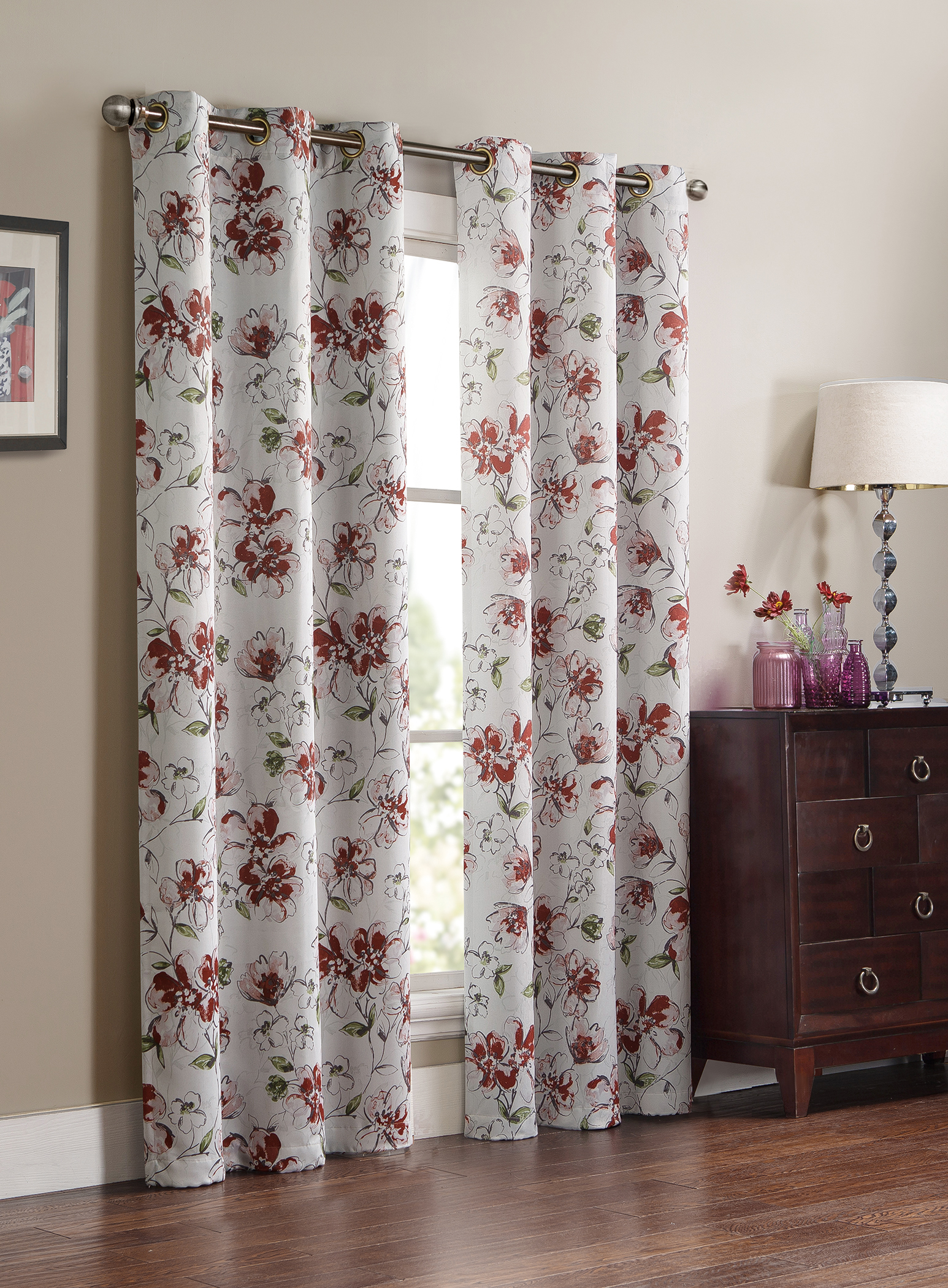 Drapes Curtains Buy Drapes Curtains In Window Treatments Hardware Sears