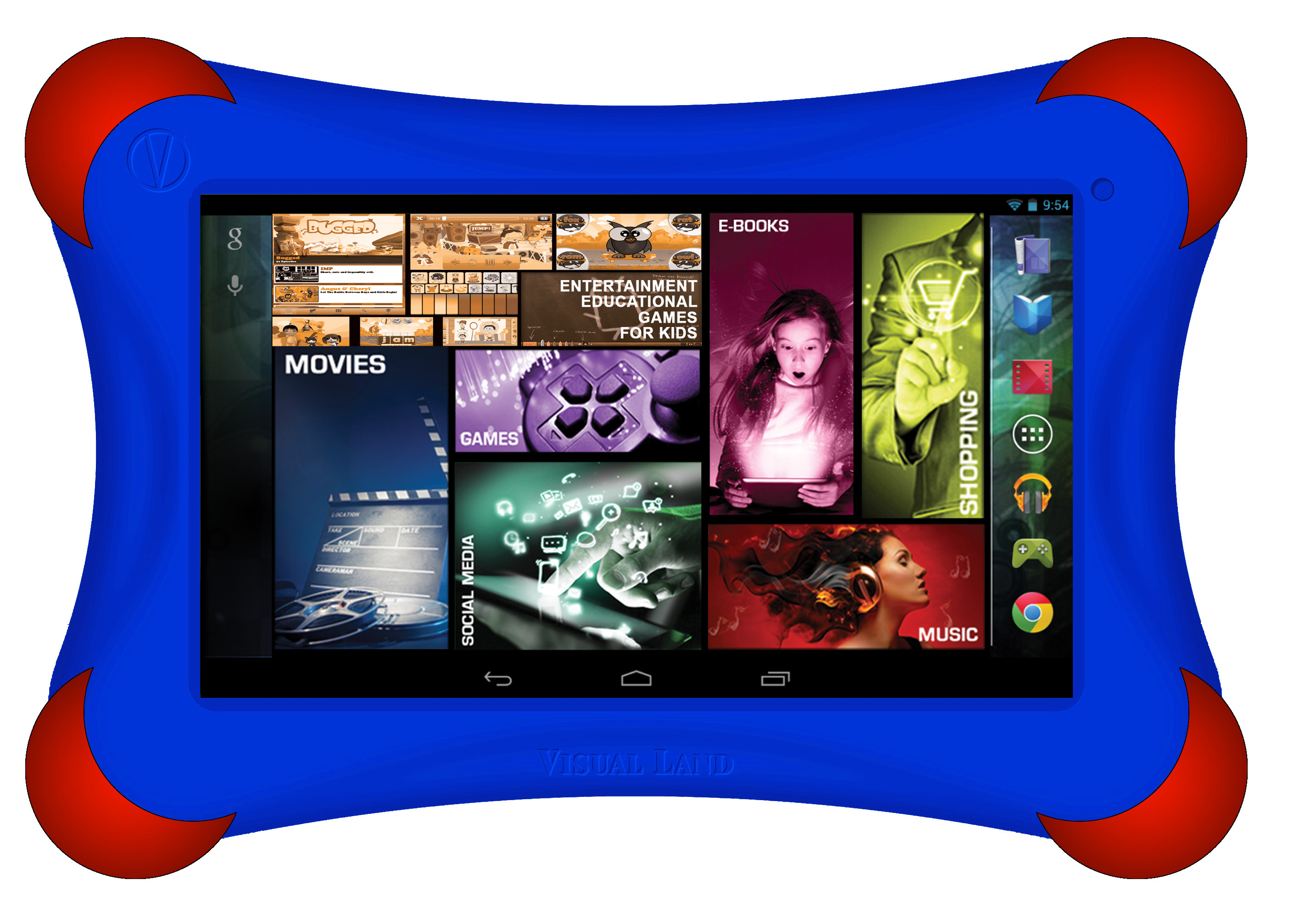 Visual Land Prestige Elite FamTab (Royal Blue) 7