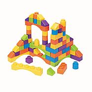 Just Kidz 70 Piece Building Block Set at Kmart.com