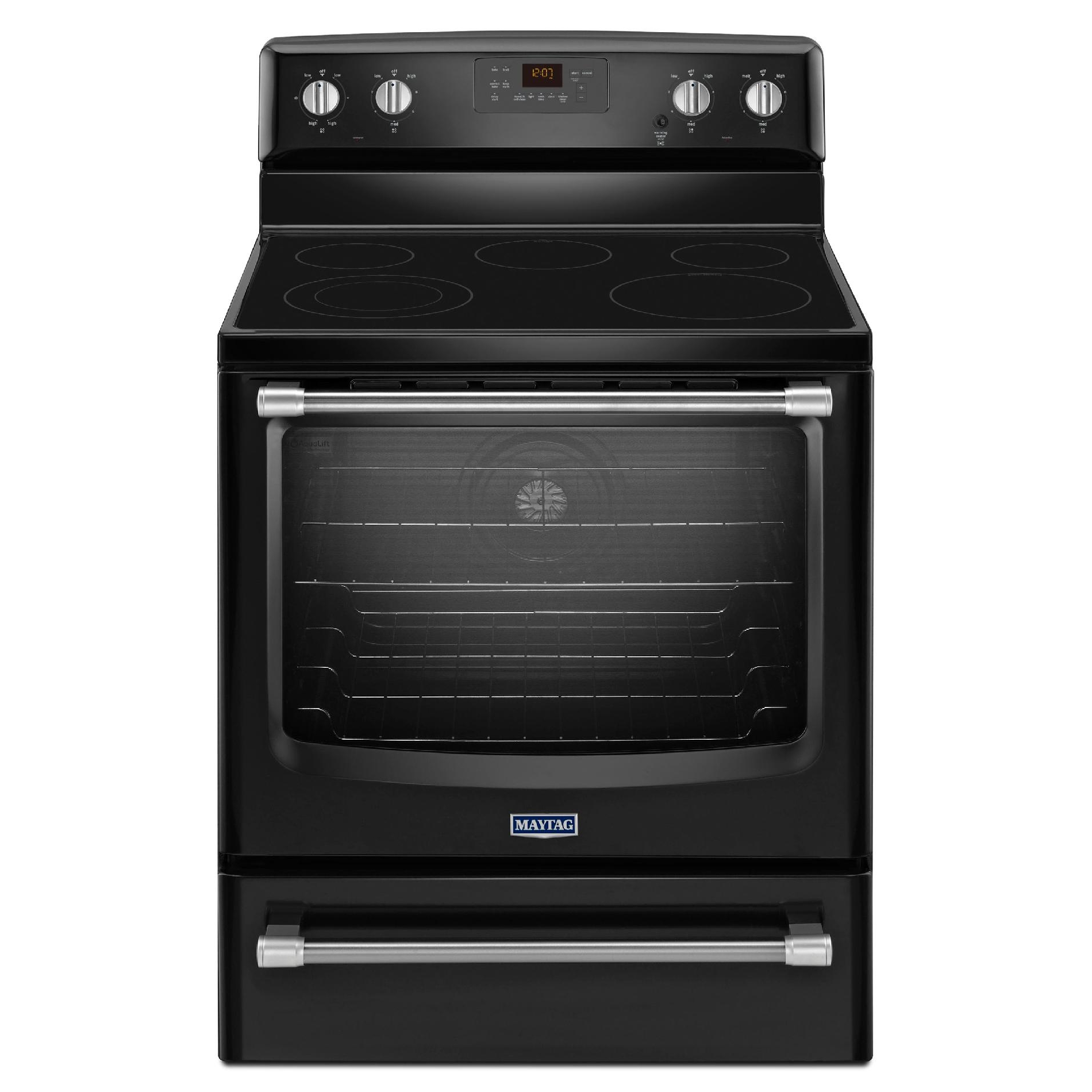 MER8700DE-6-2-cu-ft-Electric-Range-w-5th-Element-Black-w-Stainless-Handle