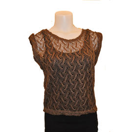 AX Paris Women's Crochet Knitted Top- Online Exclusive at Kmart.com