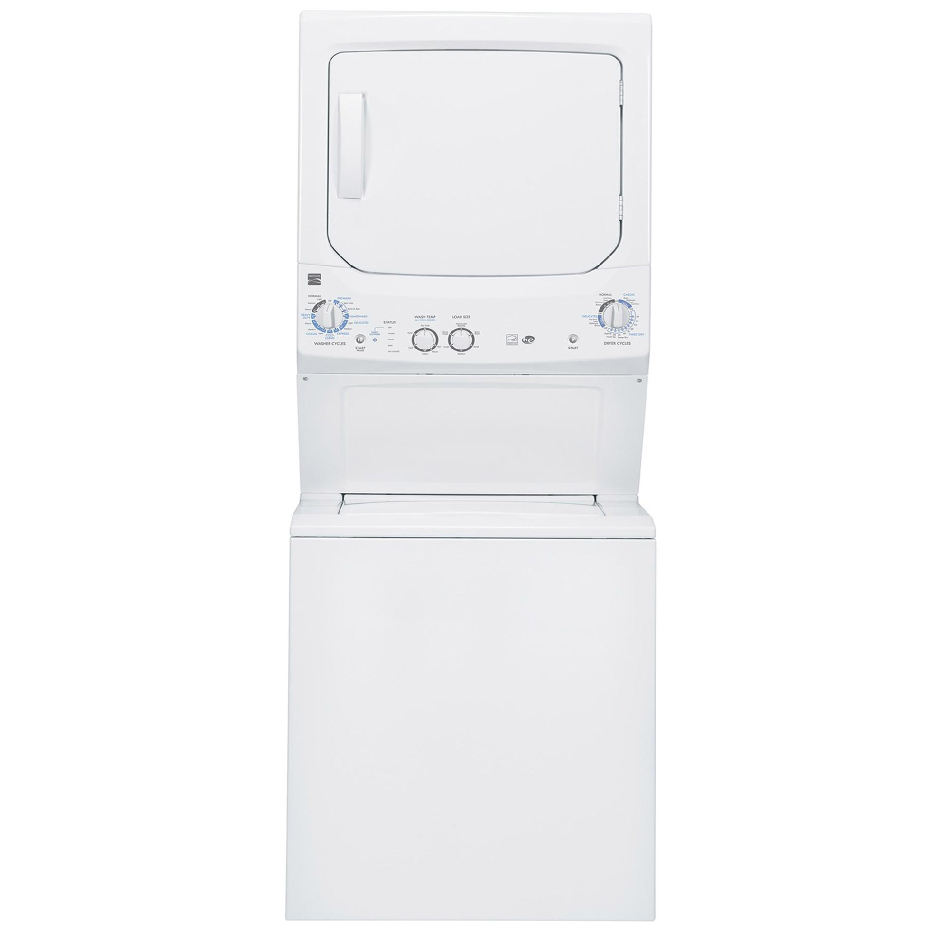 Kenmore 27 Laundry Center Space Saving Laundry Care At Sears