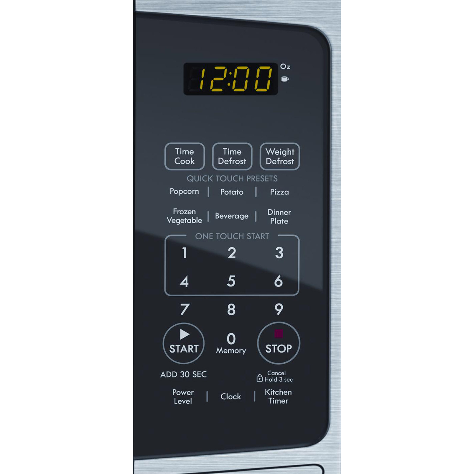 Kenmore 0.9 Cu. Ft. Stainless Countertop Microwave