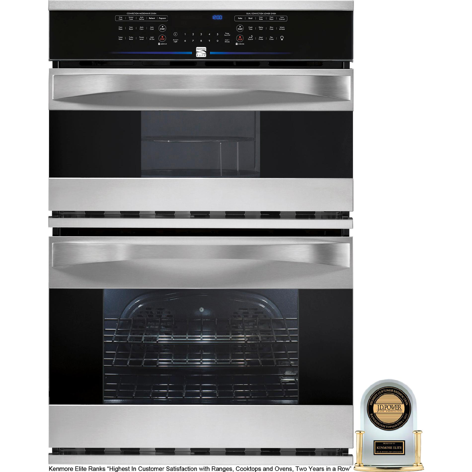 Kenmore Elite 30 Electric Combination Wall Oven W Convection Your Way Online Ping Earn Points On Tools Liances Electronics More