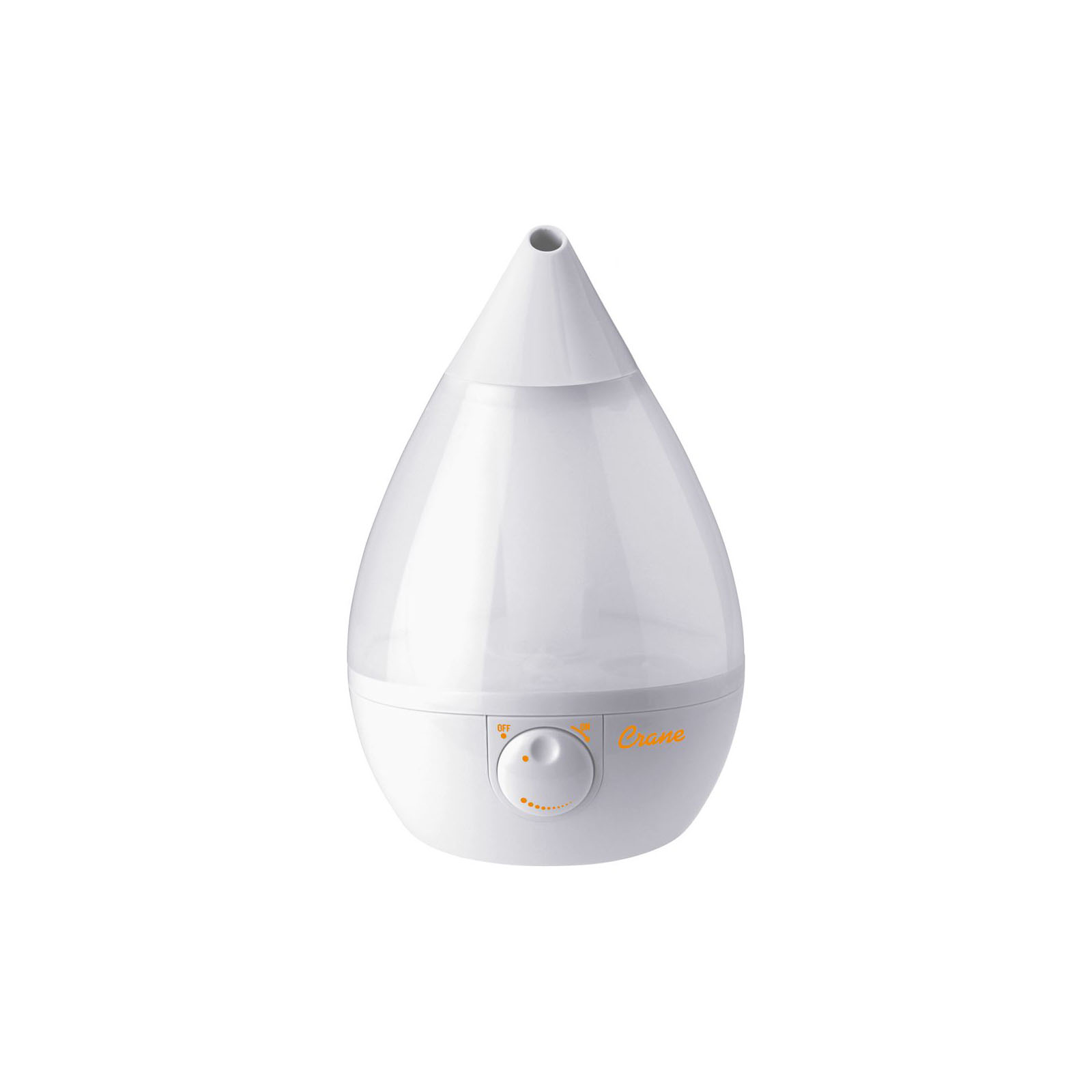 Crane USA EE-5301W Cool Mist Drop-Shape Humidifier - White PartNumber: 03211205000P KsnValue: 03211205000 MfgPartNumber: EE-5301W