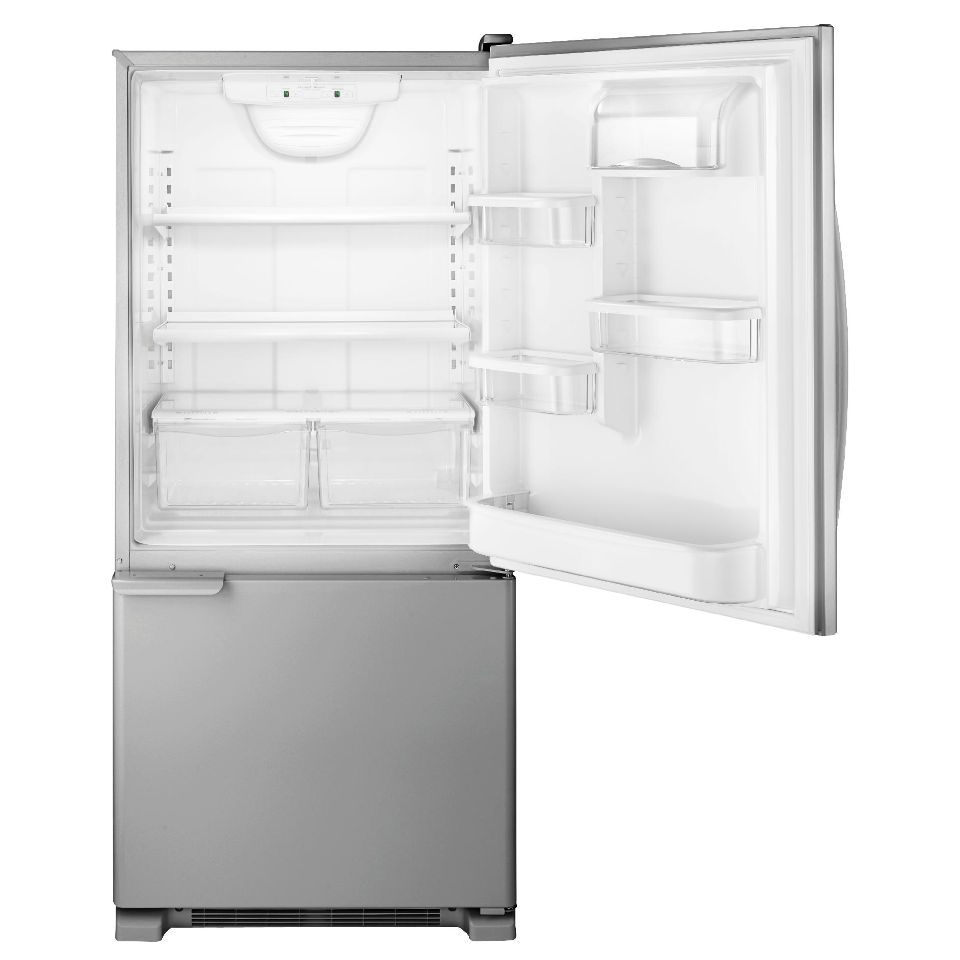 Kenmore Kenmore 69313 19 Cuft Refrigerator With Swing Freezer Door/Humidity  Controlled Crispers   Stainless