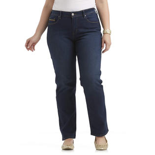 Levi's Women's Plus 512 Perfectly Shaping Straight Leg Jeans