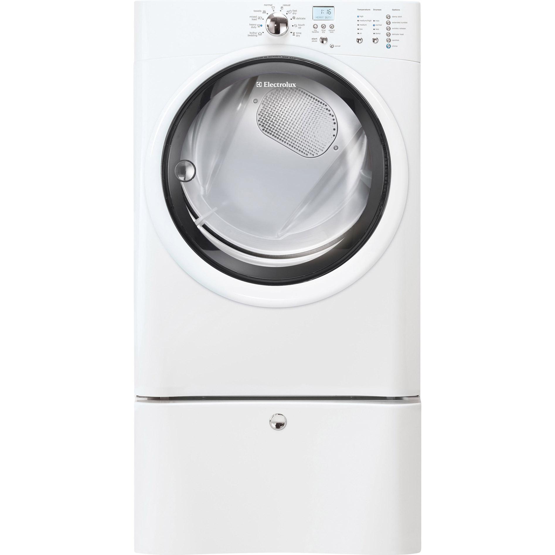 Electrolux 8.0 cu. ft. Gas Dryer w/ IQ-Touch™ Controls - Island White