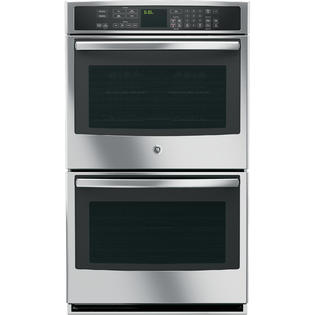 """GE Profile™ Series GE Profile™ Series 30"""" Electric Double Wall Oven w/ True Convection - Stainless Steel"""