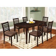 Furniture of America Mistanx Espresso 7-Piece Dining Set at Kmart.com