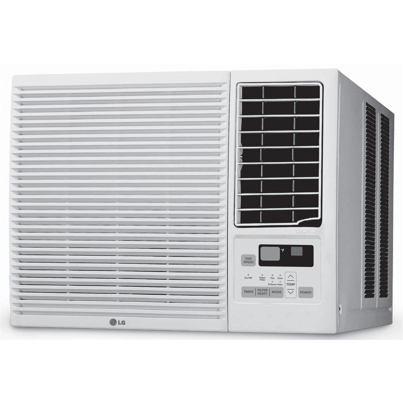 lg lw7014hr 7 000 btu 115v window mounted room air conditioner with 3 850 btu supplemental. Black Bedroom Furniture Sets. Home Design Ideas