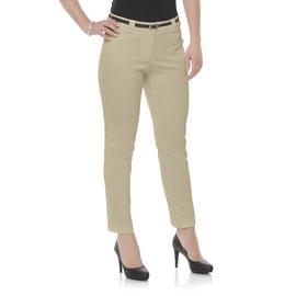 Covington Petite's Stretch Dress Pants & Belt at Sears.com